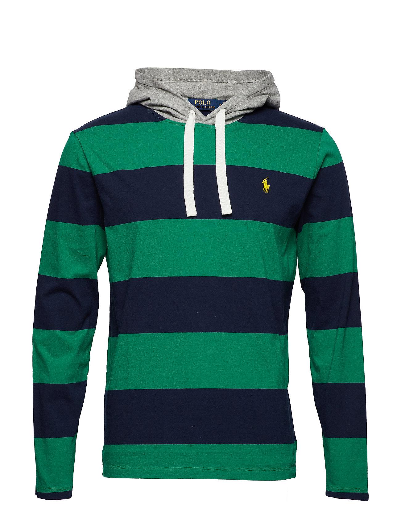 Cotton T Hooded shirtenglish Green Jersey cruPolo Ralph Lauren AR34jLq5