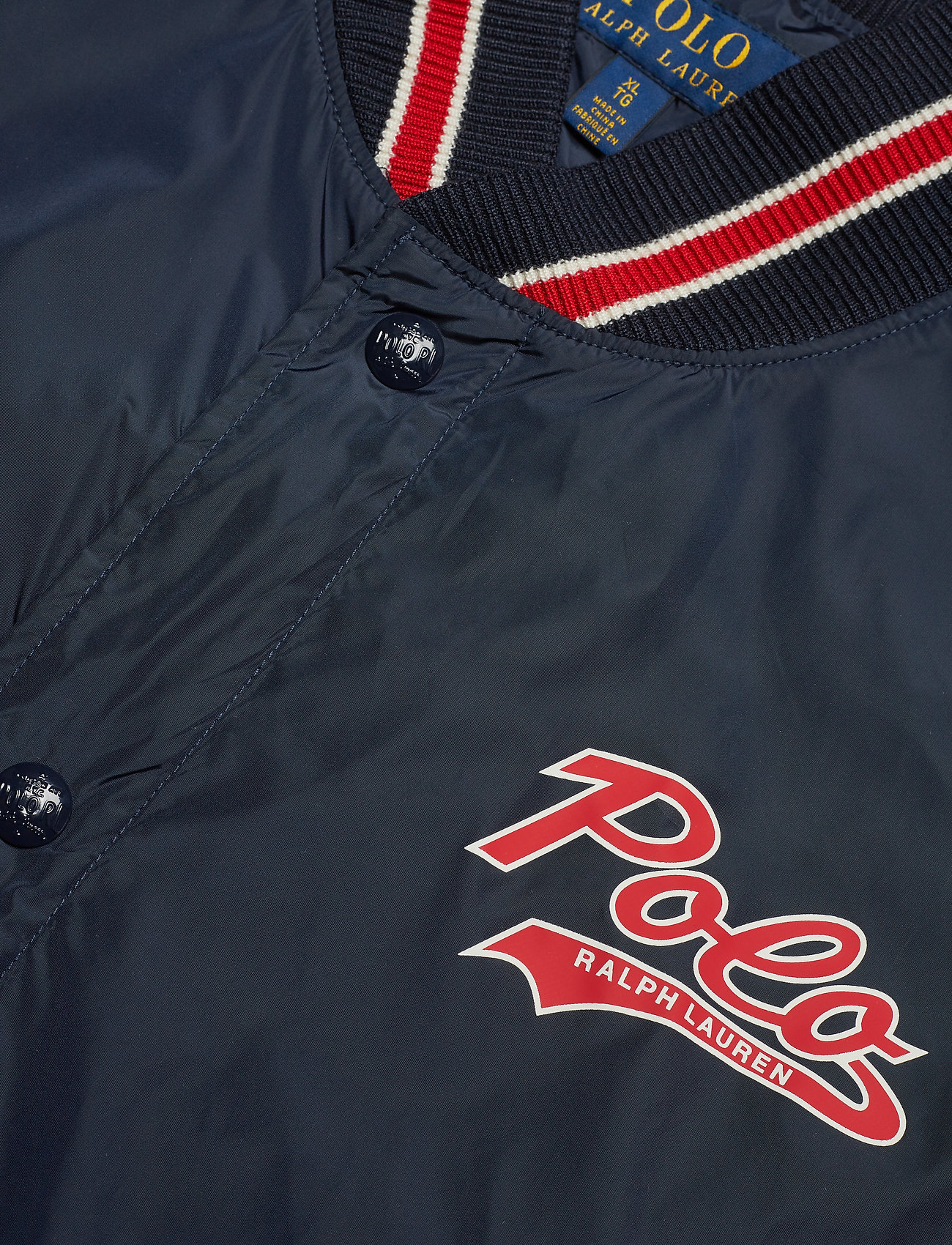 Lauren Baseball lined jacketaviator NavyPolo Ralph Jkt I6fg7vYby