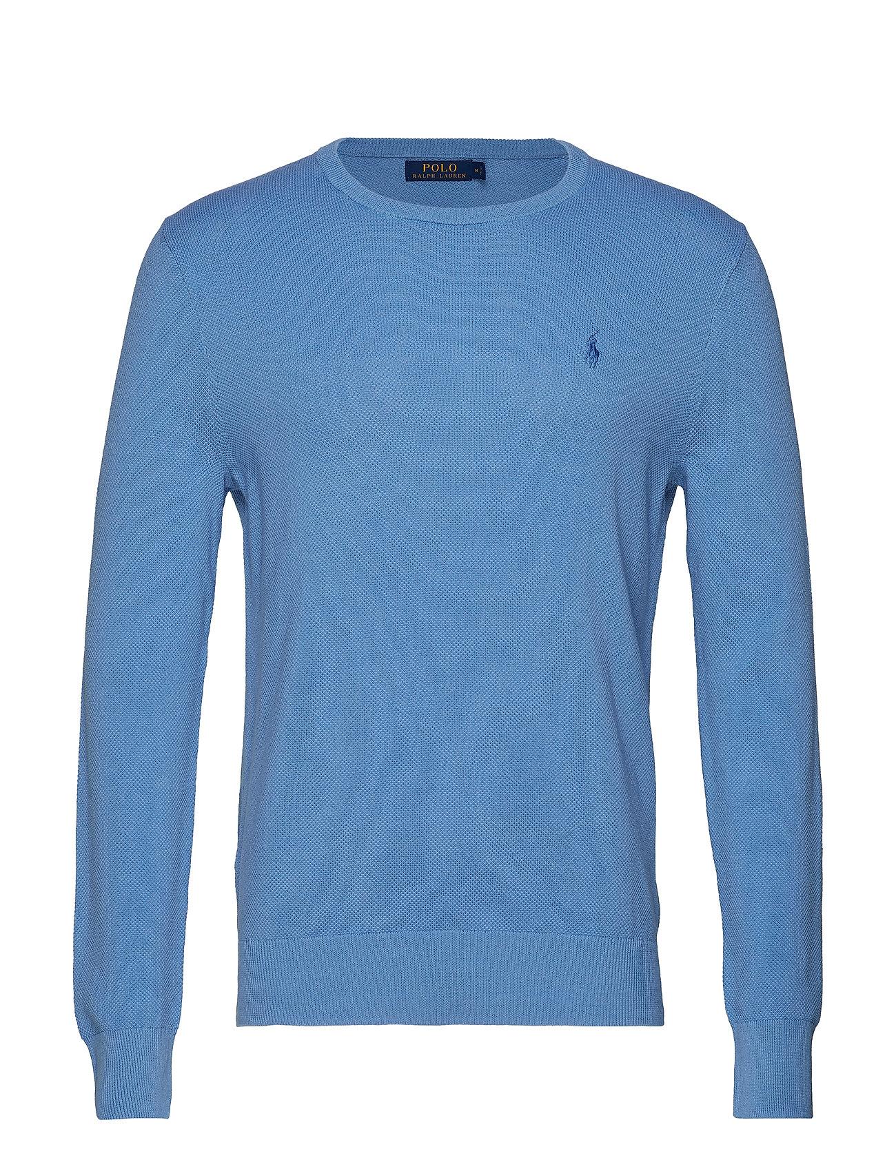 Polo Ralph Lauren LS CN PP-LONG SLEEVE-SWEATER - NANTUCKET BLUE