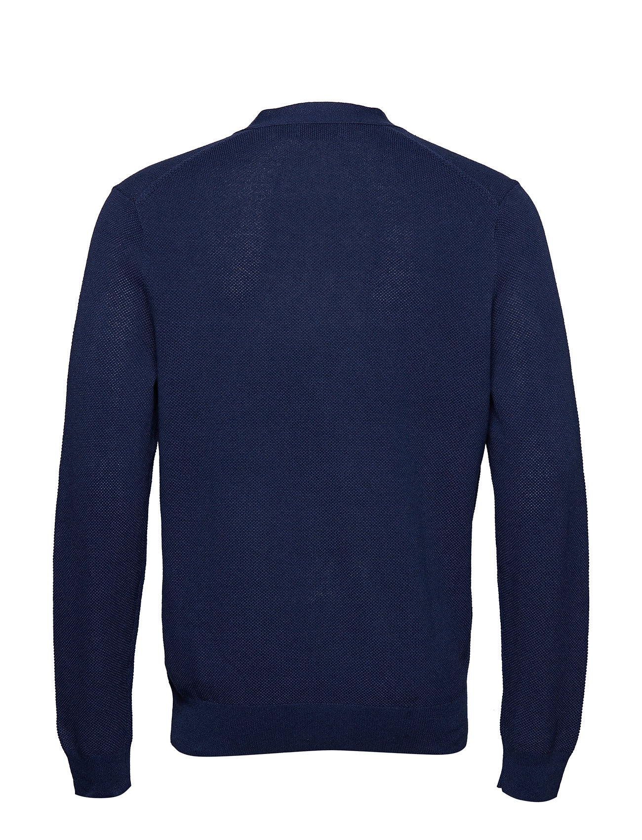 Ralph long sweaterdark Vn Cardi Sleeve CobaltPolo Ls Lauren bf67gy