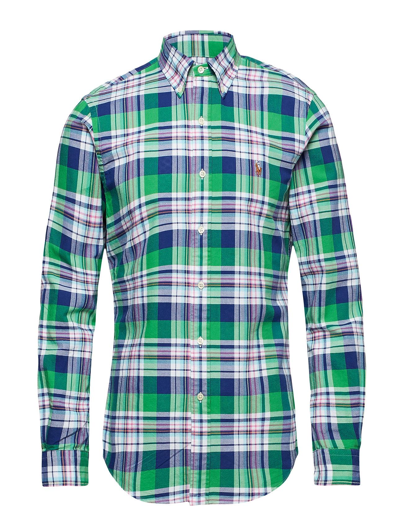 Polo Ralph Lauren Slim Fit Gingham Oxford Shirt