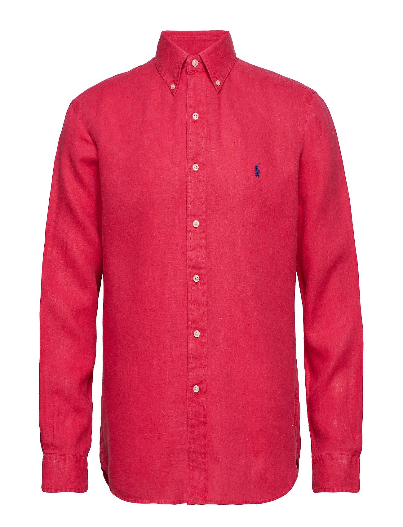 Polo Ralph Lauren BD PPC SPT-LONG SLEEVE-SPORT SHIRT - BERMUDA RED