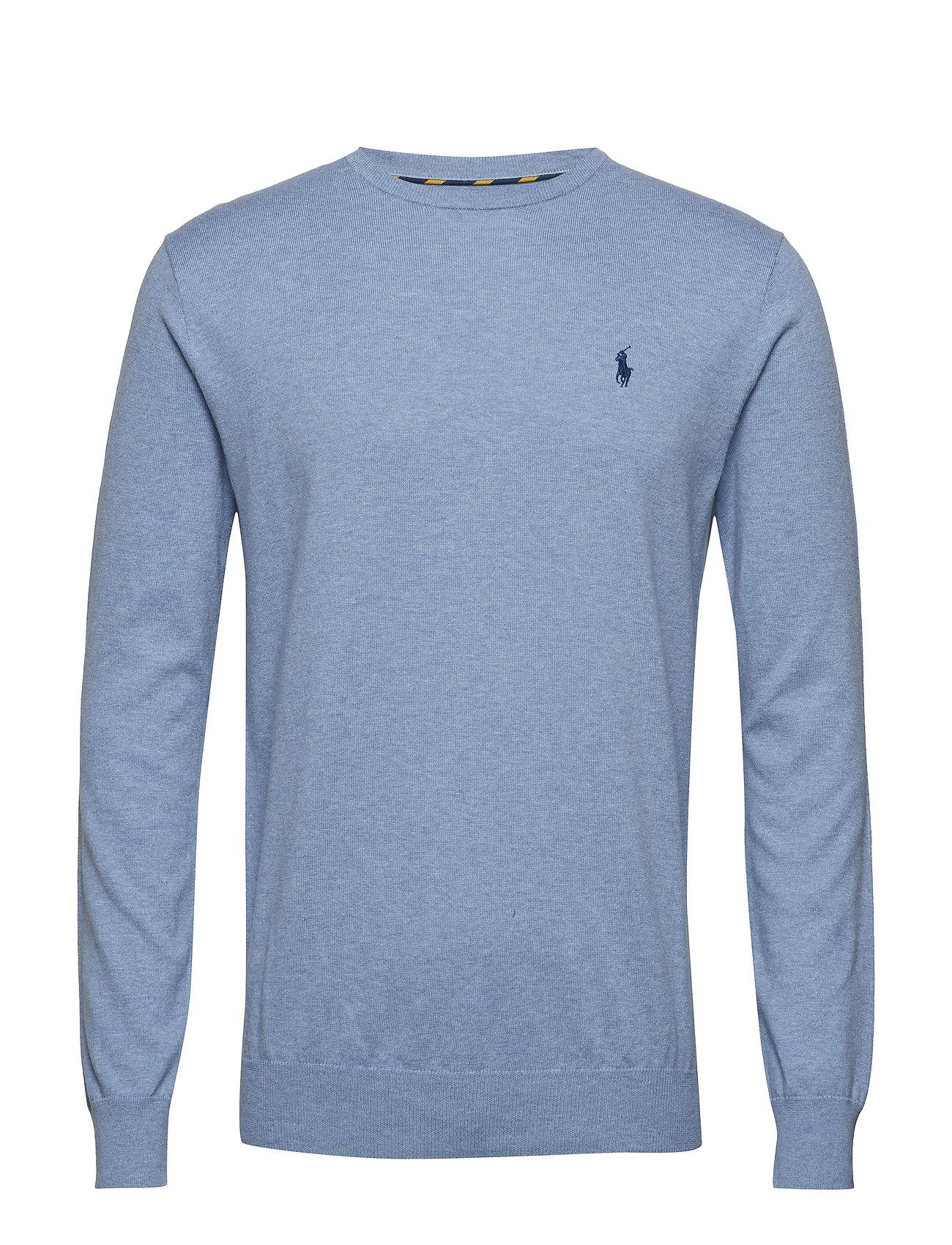 Polo Ralph Lauren LS SF CN PP-LONG SLEEVE-SWEATER - NEW CAMPUS BLUE H