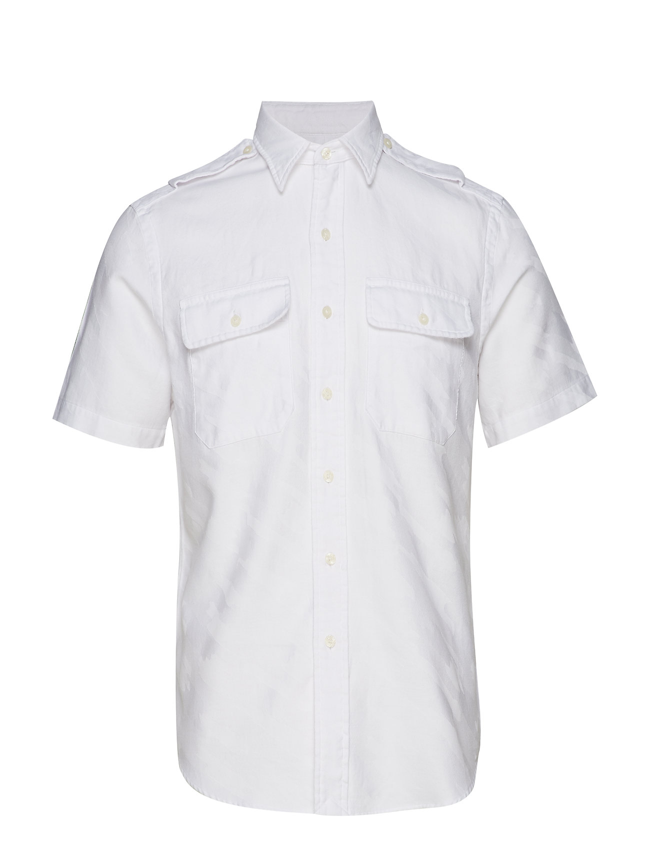 Polo Ralph Lauren Custom Fit White Camo Shirt - 4027 WHITE CAMO