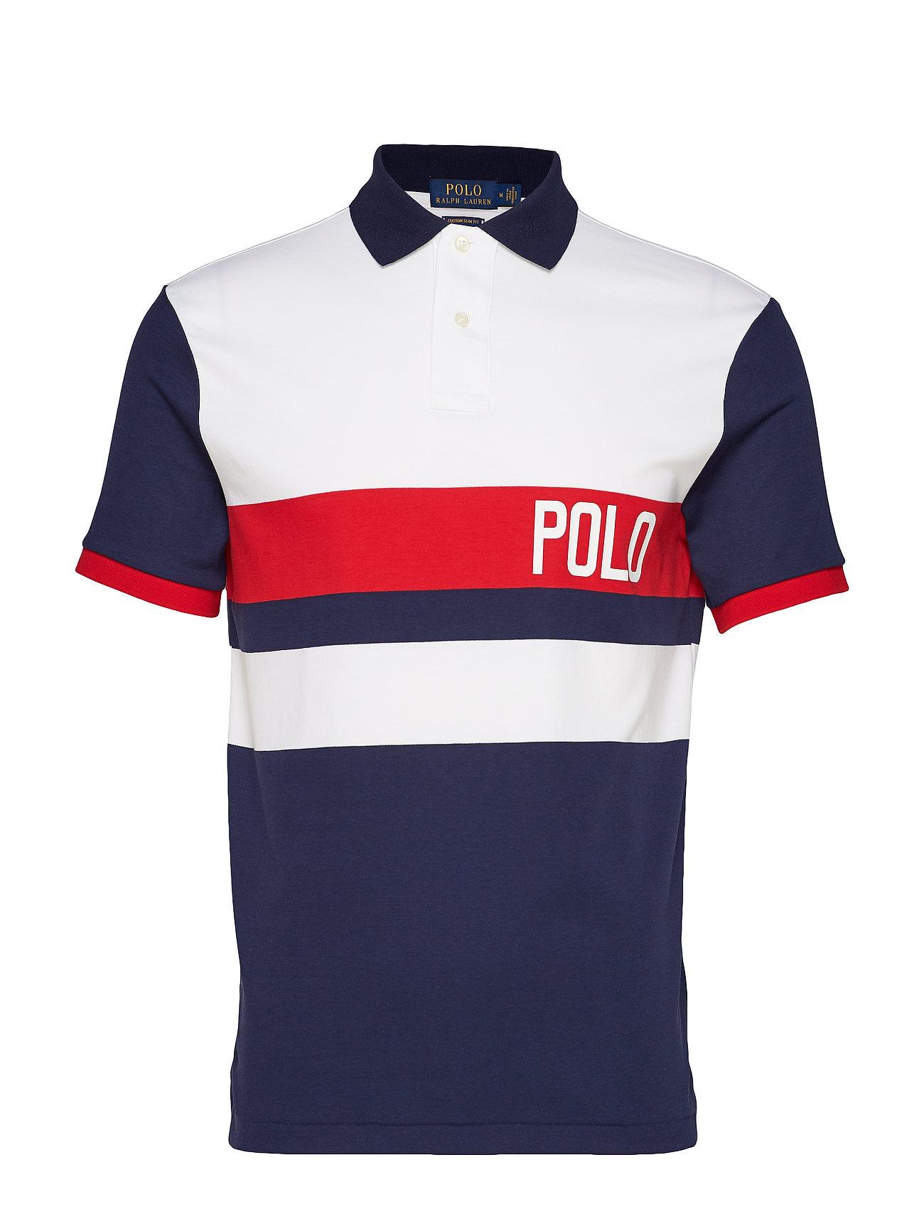 Polo Ralph Lauren Custom Slim Fit Interlock Polo