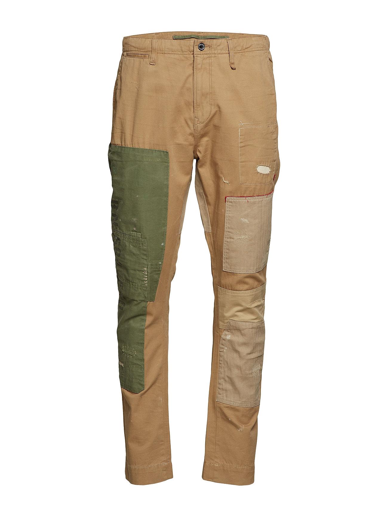Polo Ralph Lauren Classic Tapered Fit Pant - KHAKI/OLIVE MULTI