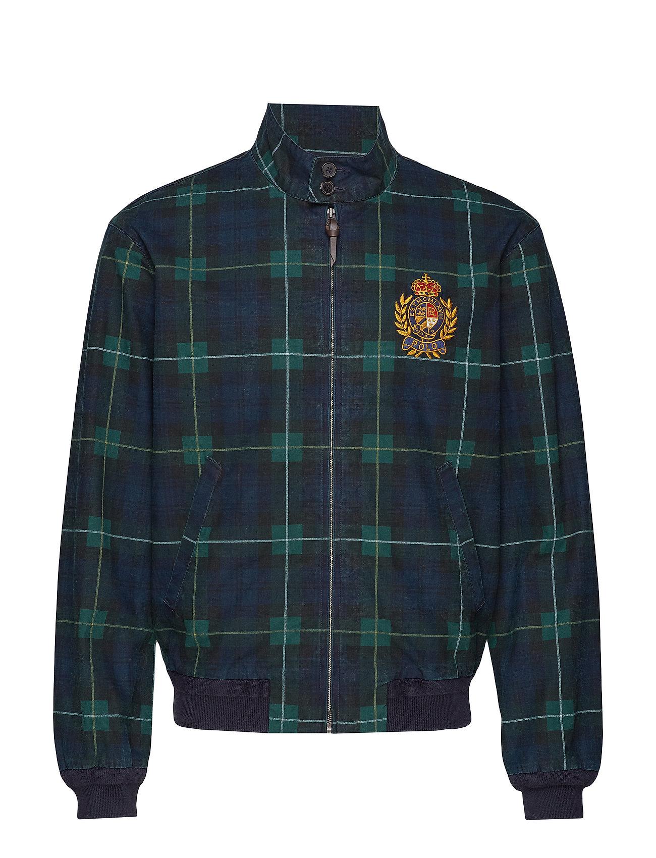 Polo Ralph Lauren Plaid Cotton Canvas Jacket - GORDON PLAID