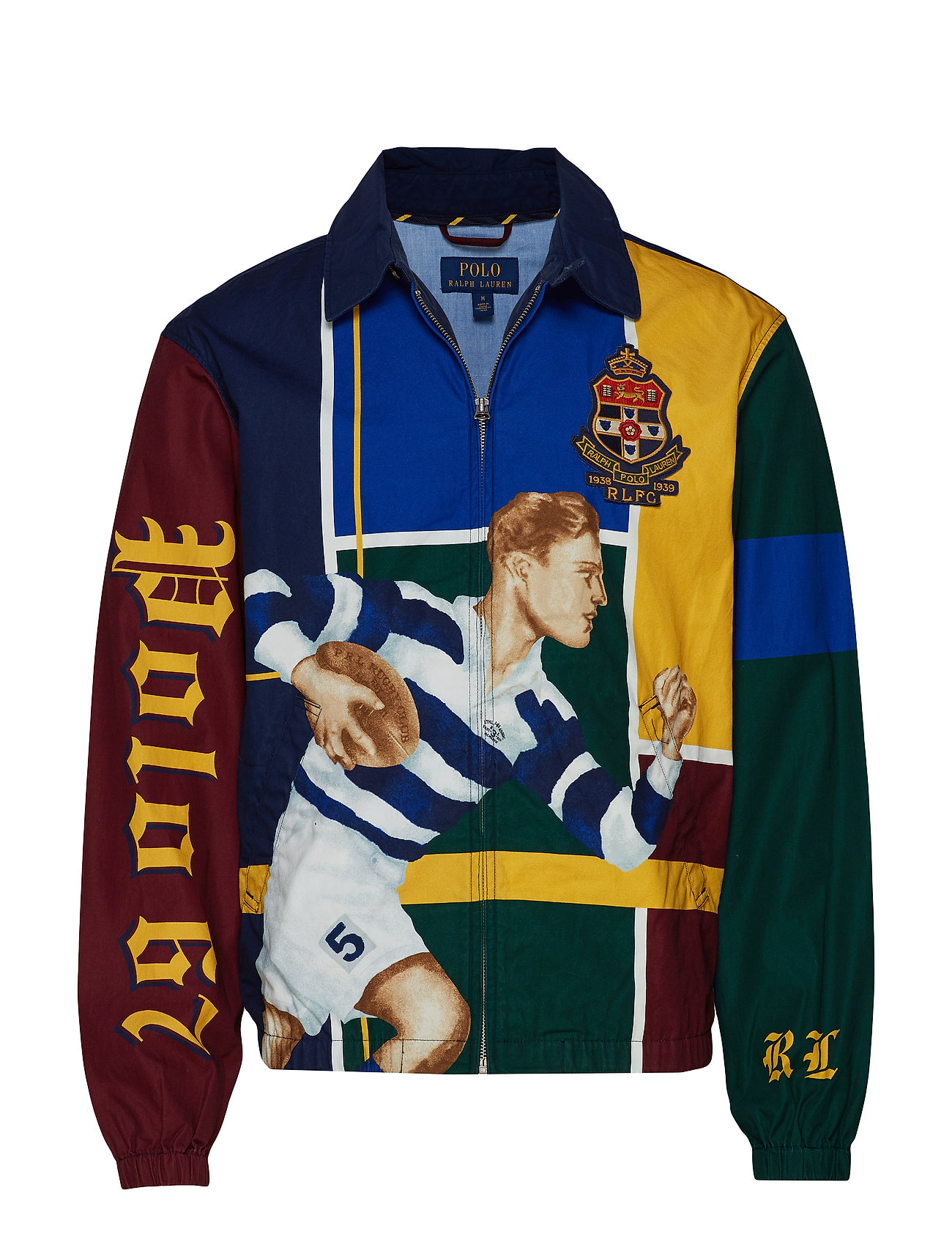 Polo Ralph Lauren Bayport Graphic Windbreaker - RUGBY GRAIL