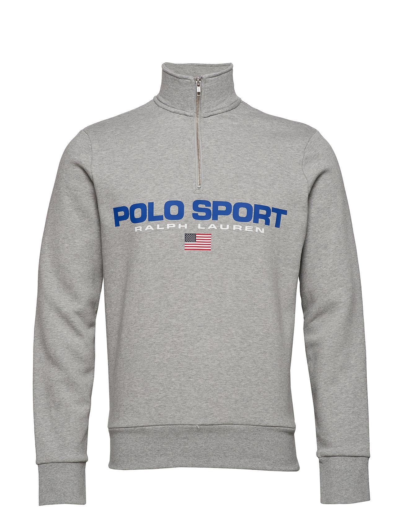Polo Ralph Lauren Polo Sport Half-Zip Sweatshirt - ANDOVER HEATHER