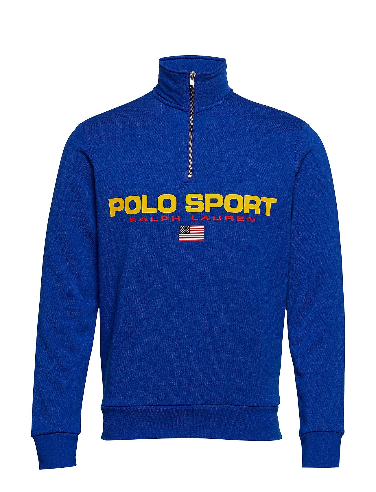 Polo Ralph Lauren Polo Sport Half-Zip Sweatshirt - SAPPHIRE STAR