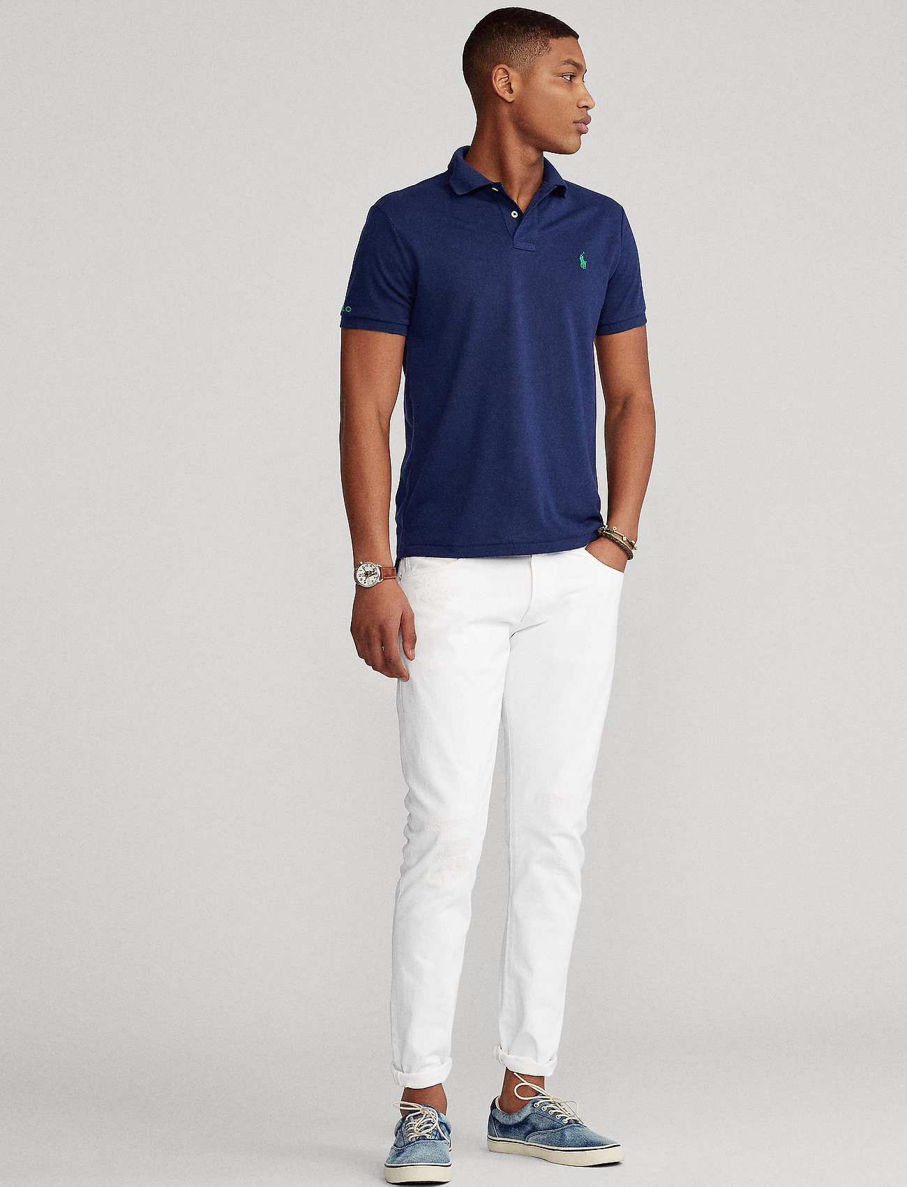 Polo Ralph Lauren - The Earth Polo - kurzärmelig - newport navy - 0