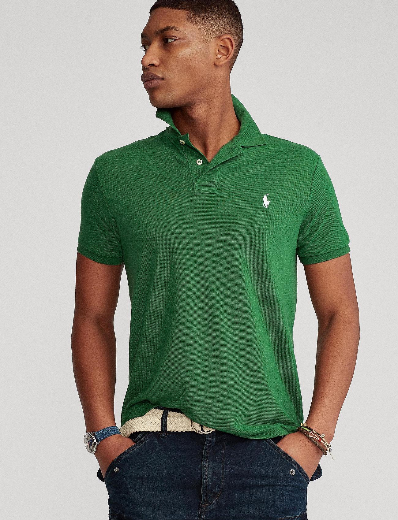 Polo Ralph Lauren - The Earth Polo - kurzärmelig - stuart green - 0