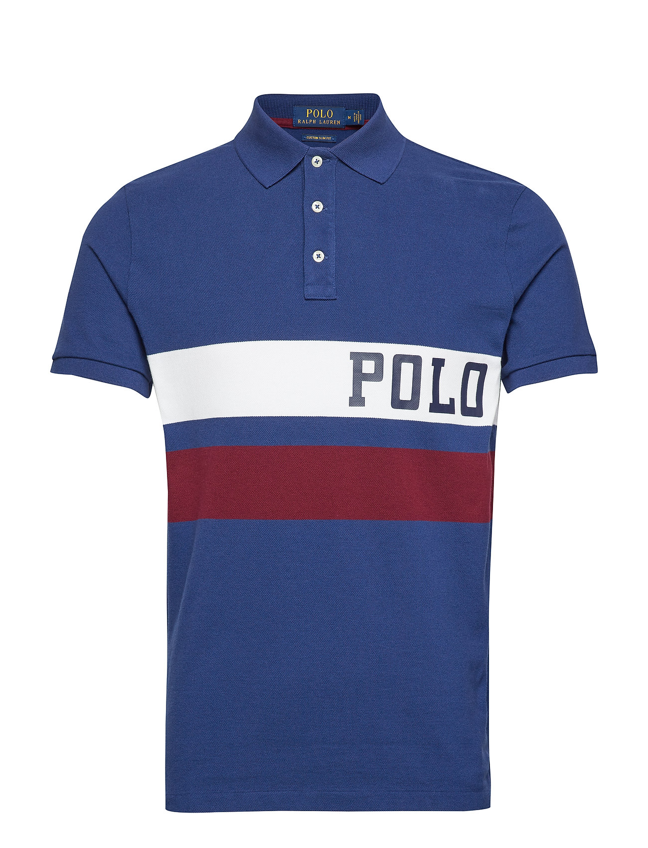 Polo Ralph Lauren Custom Slim Fit Mesh Polo - HOLIDAY SAPPHIRE