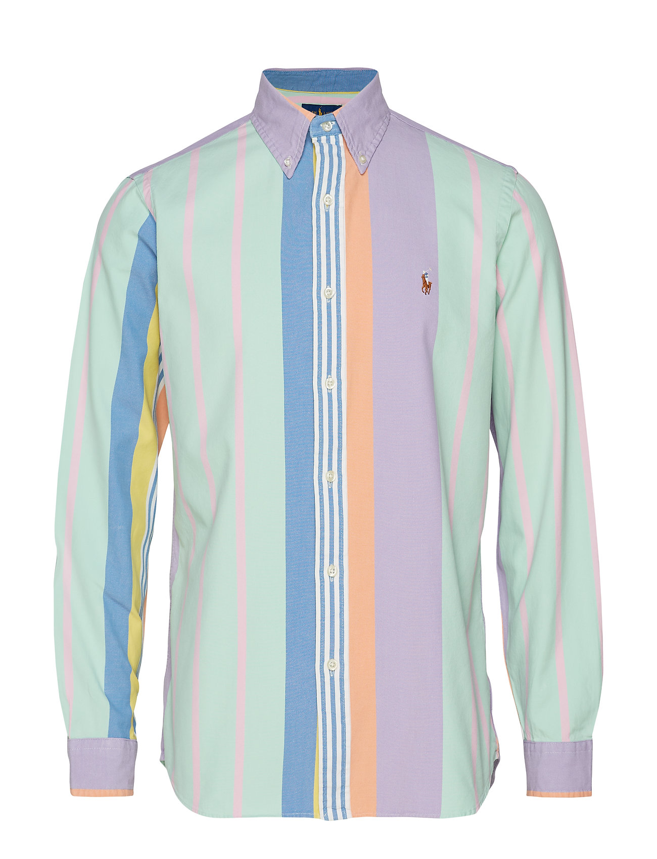 97a76d1ec Custom Fit Striped Shirt (4032 Pastel Multi) (£109) - Polo Ralph ...