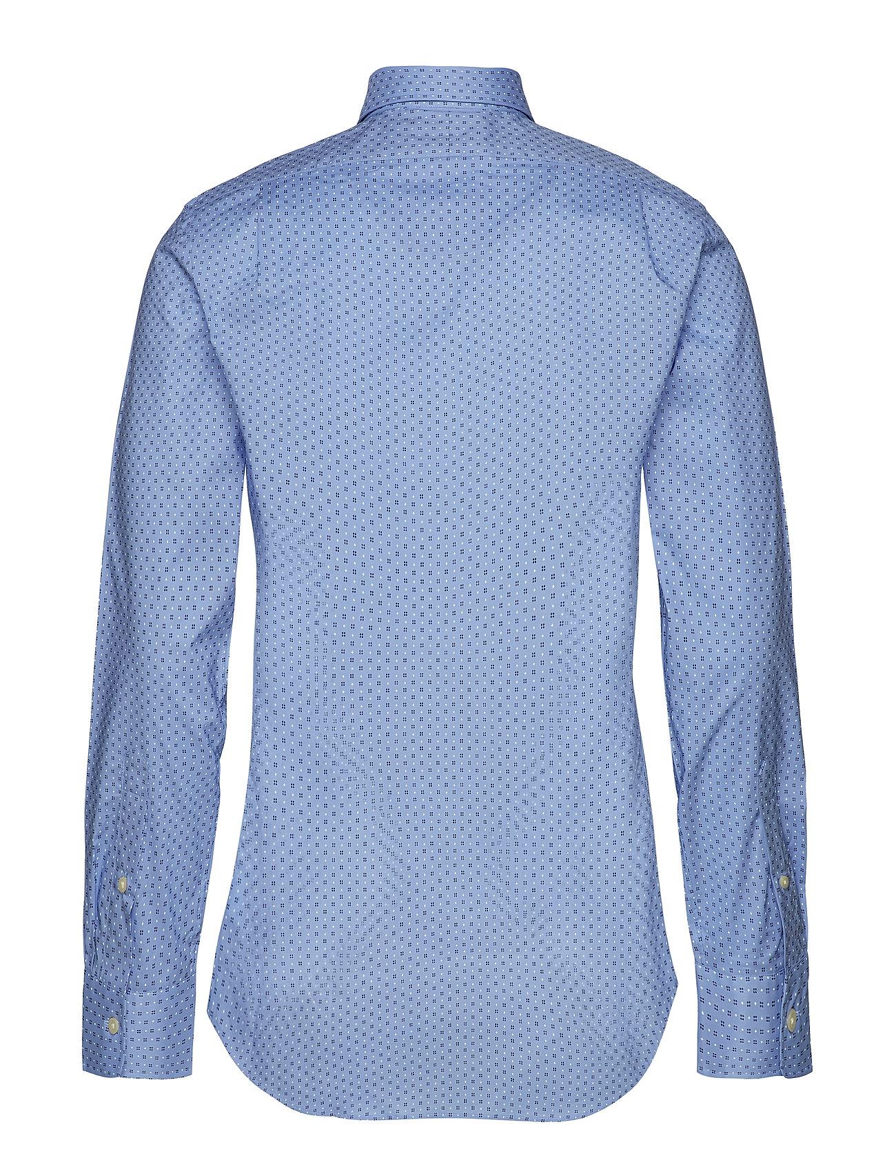 Ralph Lauren Fit Shirt4066 Print DiamoPolo Button Slim 0kZXN8wOnP