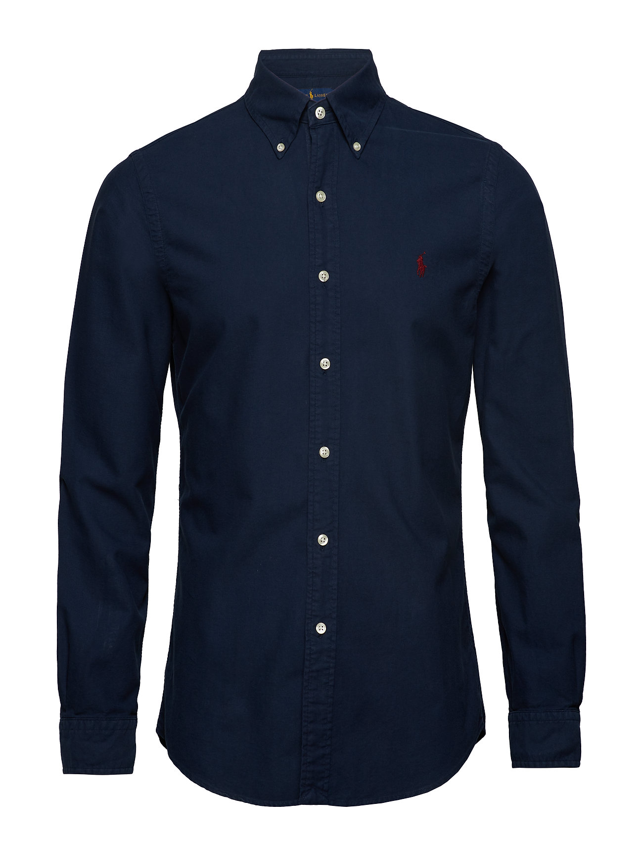 Polo Ralph Lauren Slim Fit Cotton Oxford Shirt - CRUISE NAVY