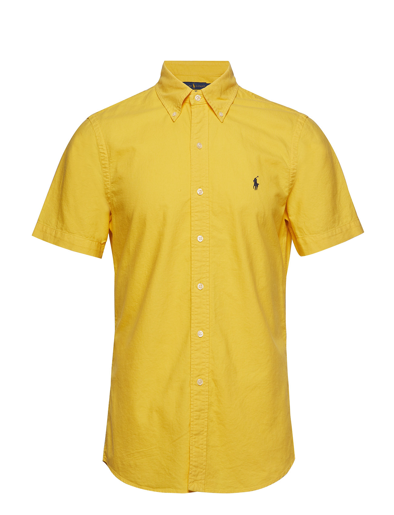 Polo Ralph Lauren Slim Fit Oxford Shirt - GOLD BUGLE