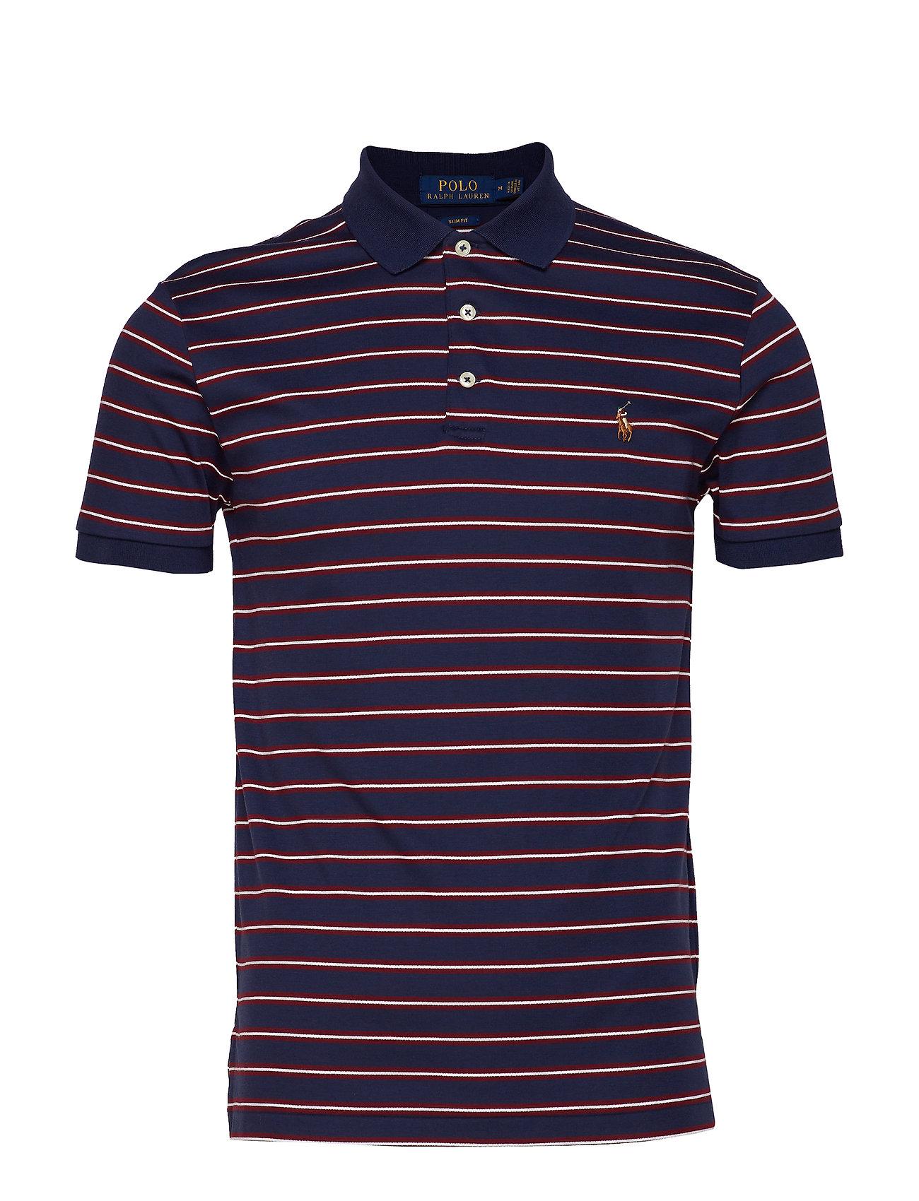 Polo Ralph Lauren Slim Fit Interlock Polo Shirt - FRENCH NAVY MULTI