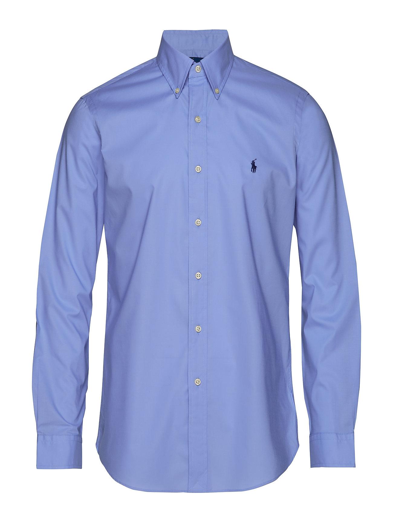 Polo Ralph Lauren NATURAL STRCH POPLN-CU BD PPC SP - PERIWINKLE BLUE