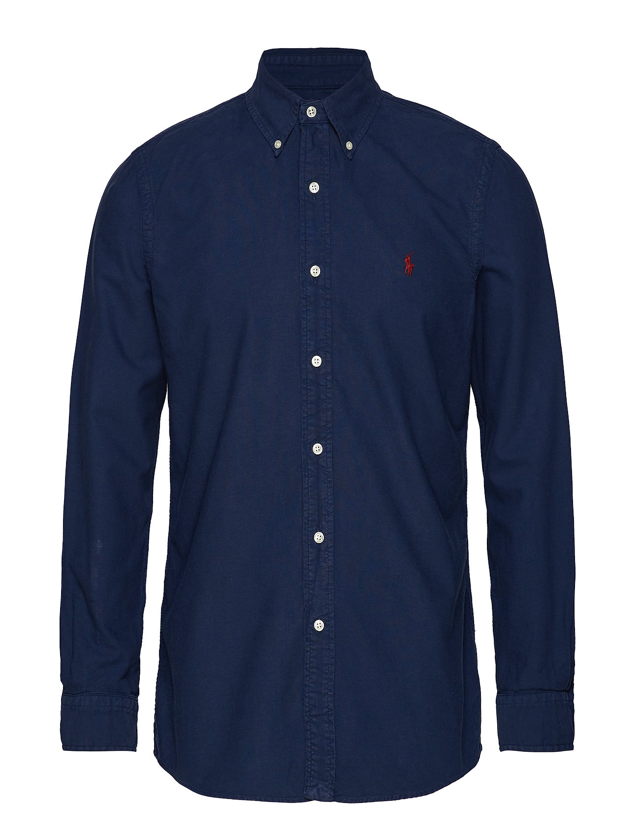 Polo Ralph Lauren Custom Fit Cotton Oxford Shirt - CRUISE NAVY