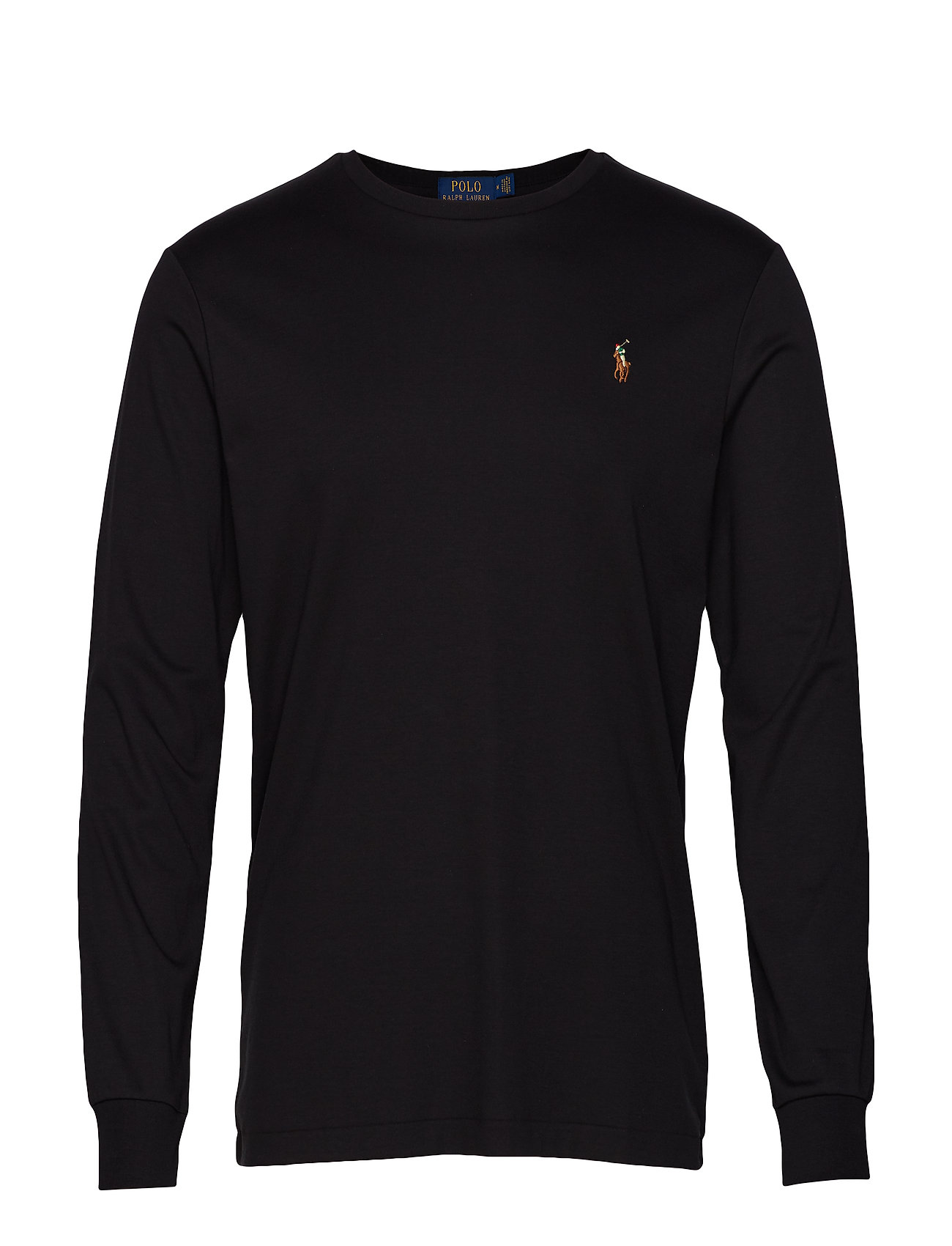 Polo Ralph Lauren Custom Slim Interlock T-Shirt - POLO BLACK