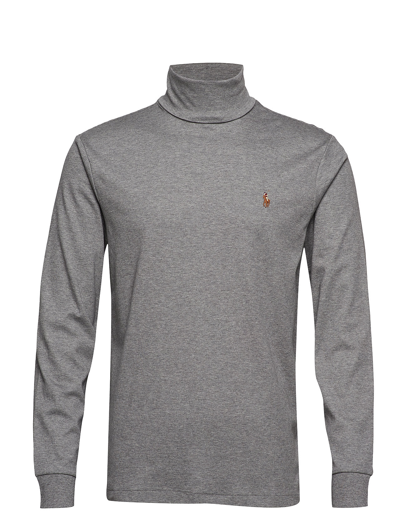 Polo Ralph Lauren LSTURTLEM1-LONG SLEEVE-KNIT - BOULDER GREY HEAT