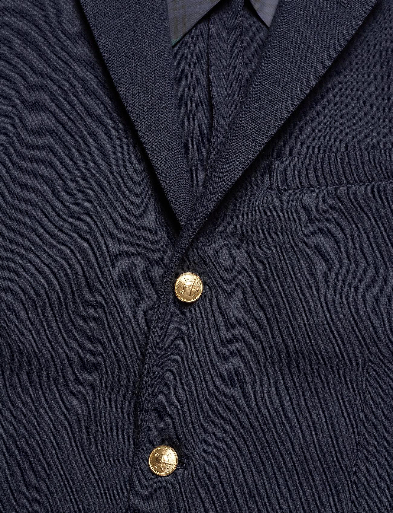 Lsblazerm2-long Sleeve-knit (Aviator Navy) (1757.25 kr) - Polo Ralph Lauren