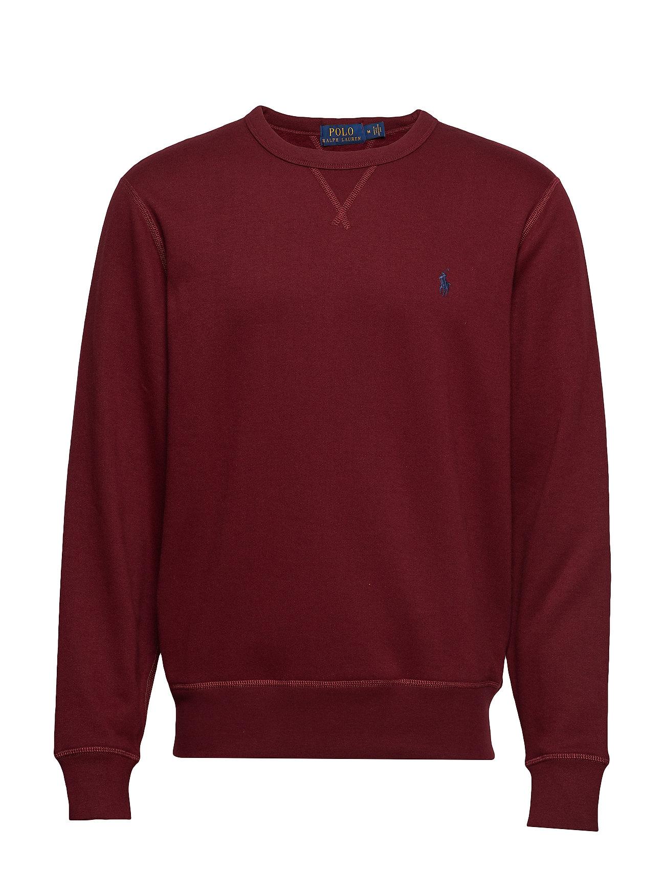 Polo Ralph Lauren Fleece Crewneck Sweatshirt - CLASSIC WINE