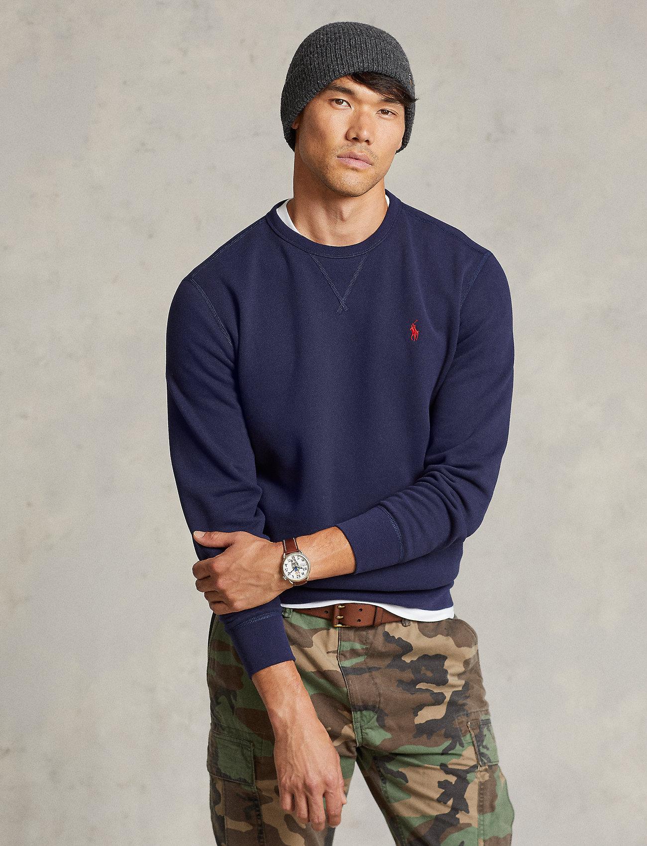 Polo Ralph Lauren - Fleece Crewneck Sweatshirt - basic sweatshirts - cruise navy - 0