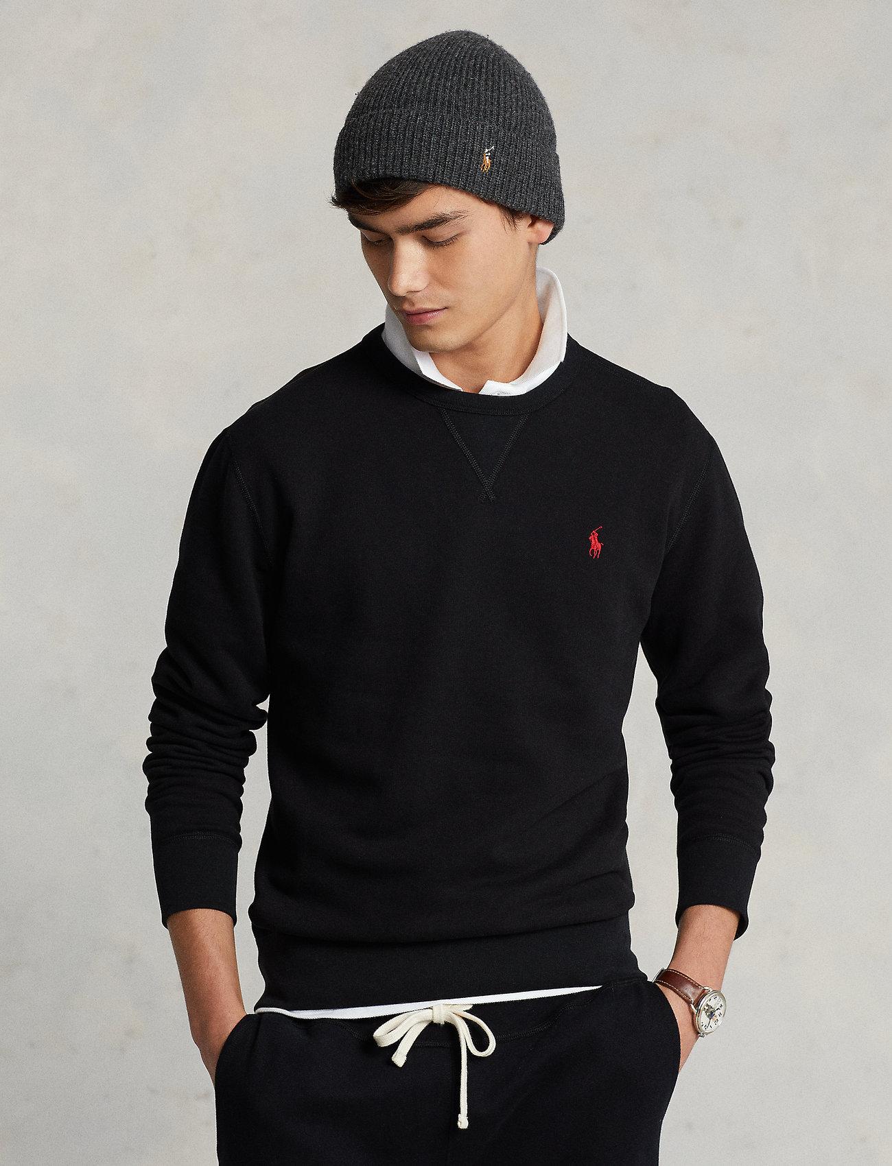 Polo Ralph Lauren - Fleece Crewneck Sweatshirt - clothing - polo black - 0