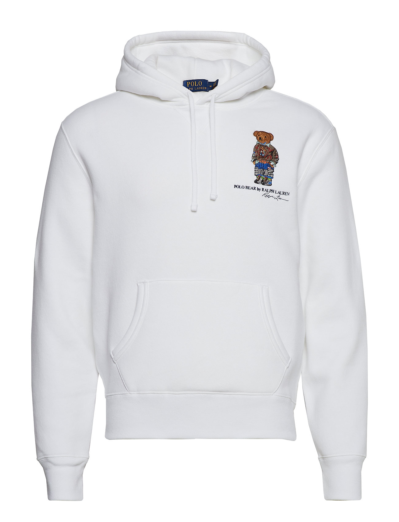 Polo Ralph Lauren LSPOHOOD M3-LONG SLEEVE-KNIT - WHITE