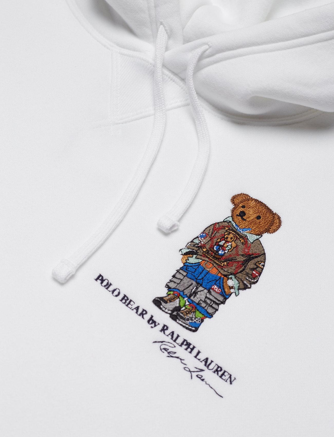 M3 Ralph Lspohood long Sleeve Lauren knitwhitePolo trCdhQs