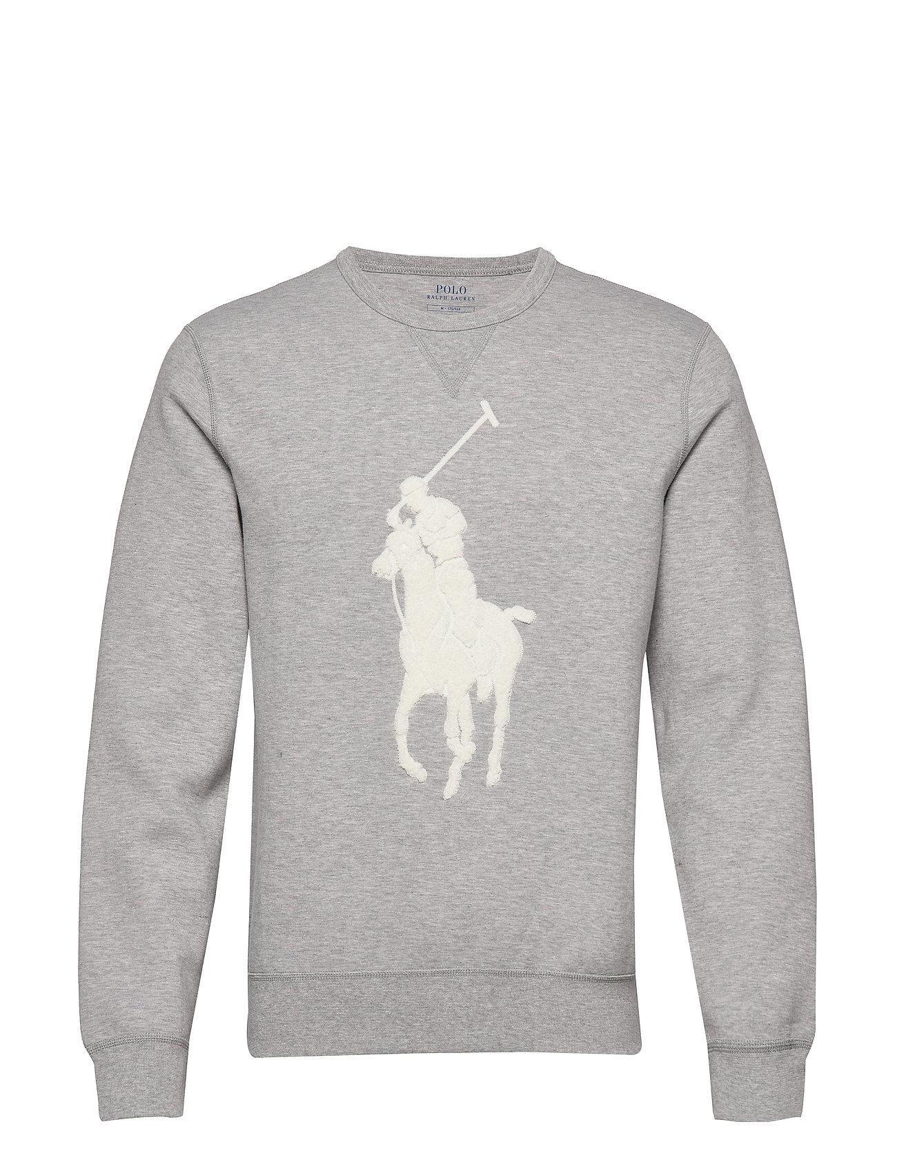 Polo Ralph Lauren Big Pony Sweatshirt - ANDOVER HEATHER