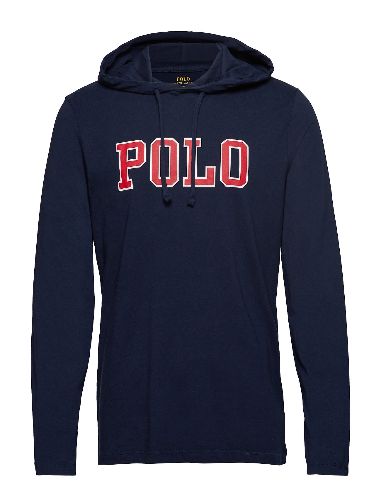 Polo Ralph Lauren LSPOHOODM3-LONG SLEEVE-T-SHIRT - CRUISE NAVY