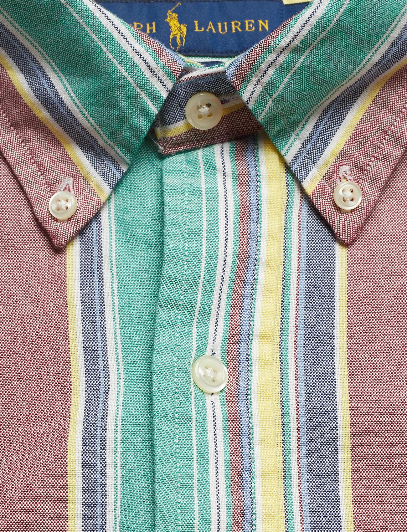 Ppc long Garnet Bd Cu Ralph yelloPolo Lauren Sp Sleeve sport Shirt4137 clFK1J