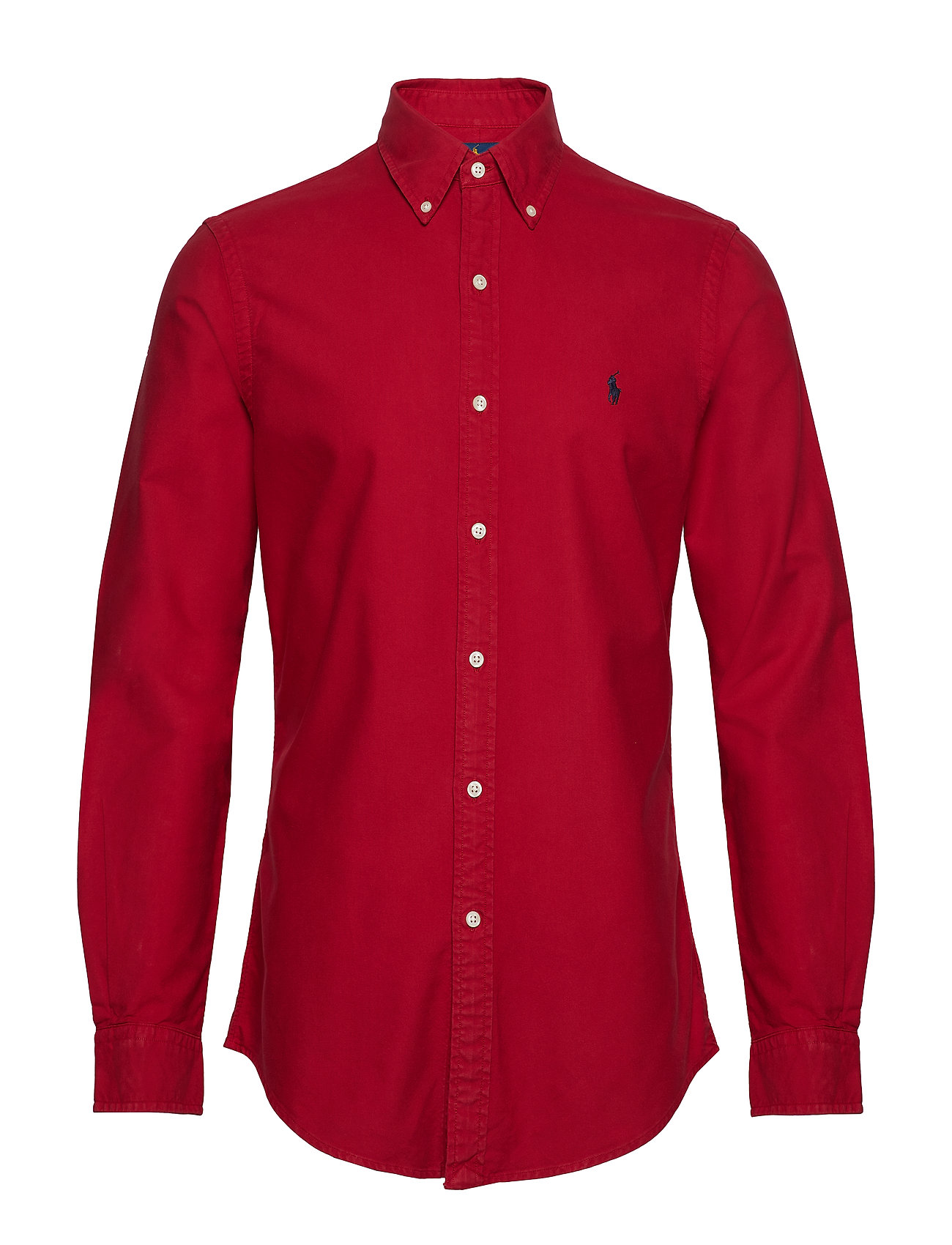 Polo Ralph Lauren SL BD PPC SP-LONG SLEEVE-SPORT SHIRT - PIONEER RED