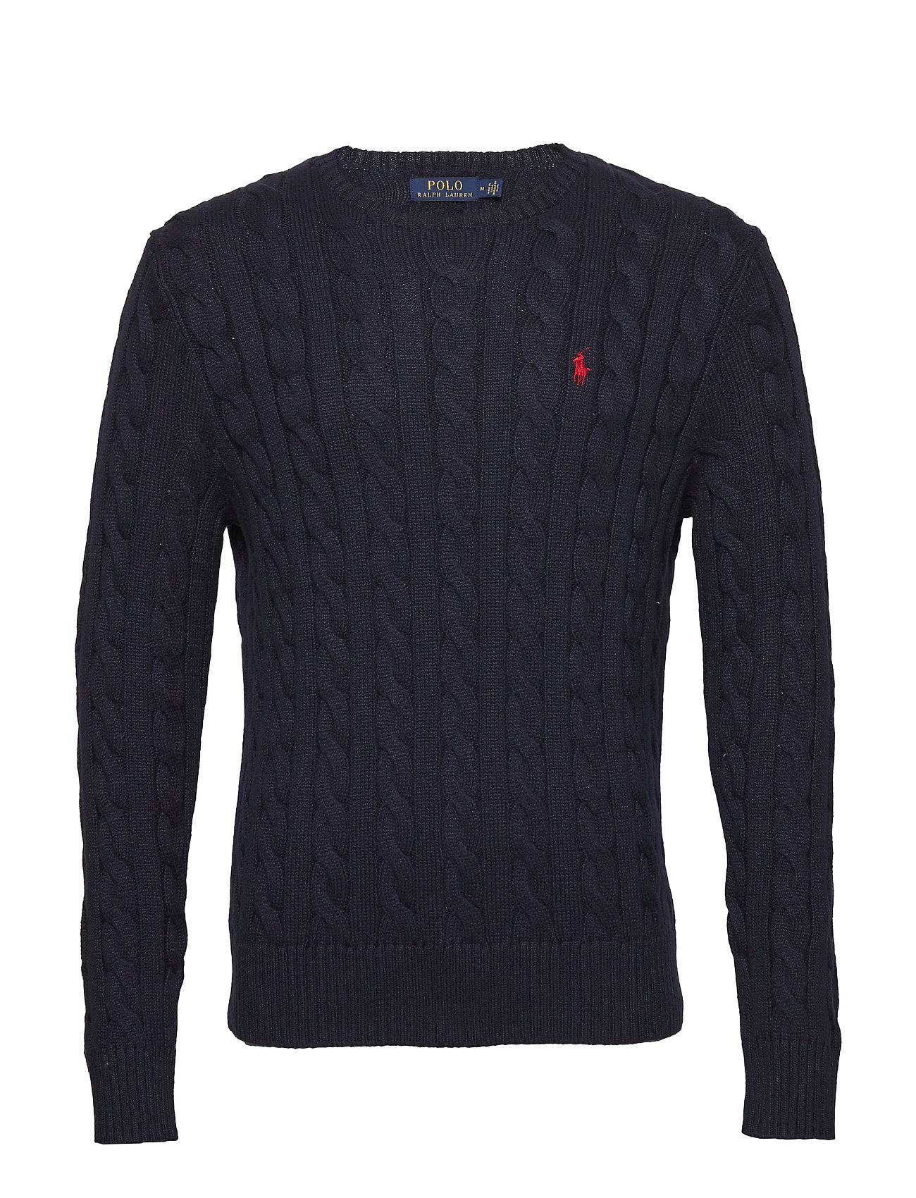 Polo Ralph Lauren Cable-Knit Cotton Sweater - HUNTER NAVY