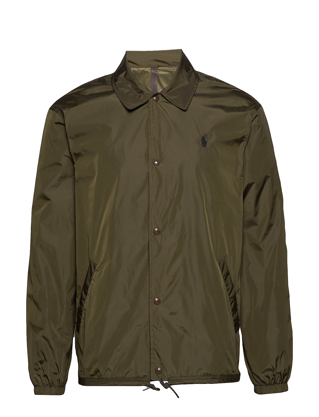 Polo Ralph Lauren Coach Jacket - COMPANY OLIVE