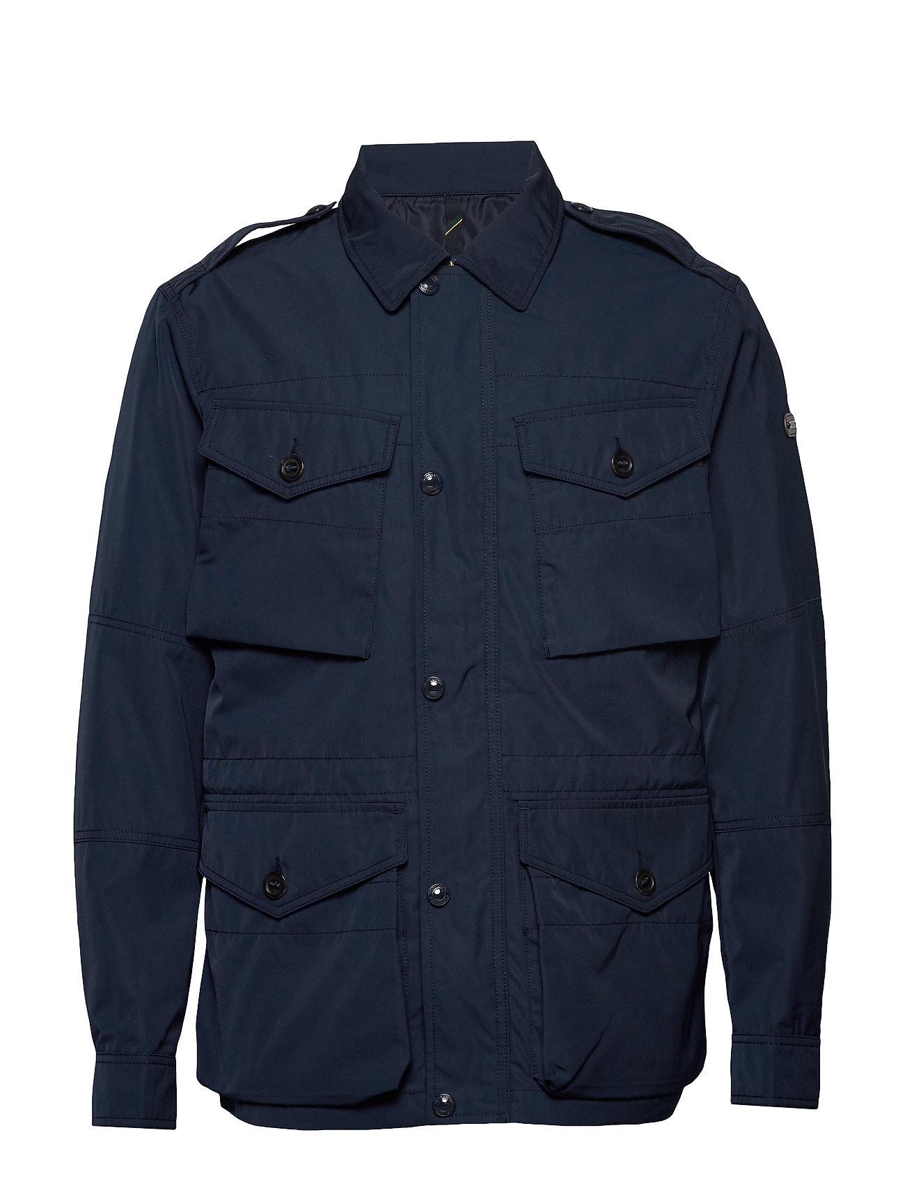 Polo Ralph Lauren Four-Pocket Oxford Jacket - AVIATOR NAVY