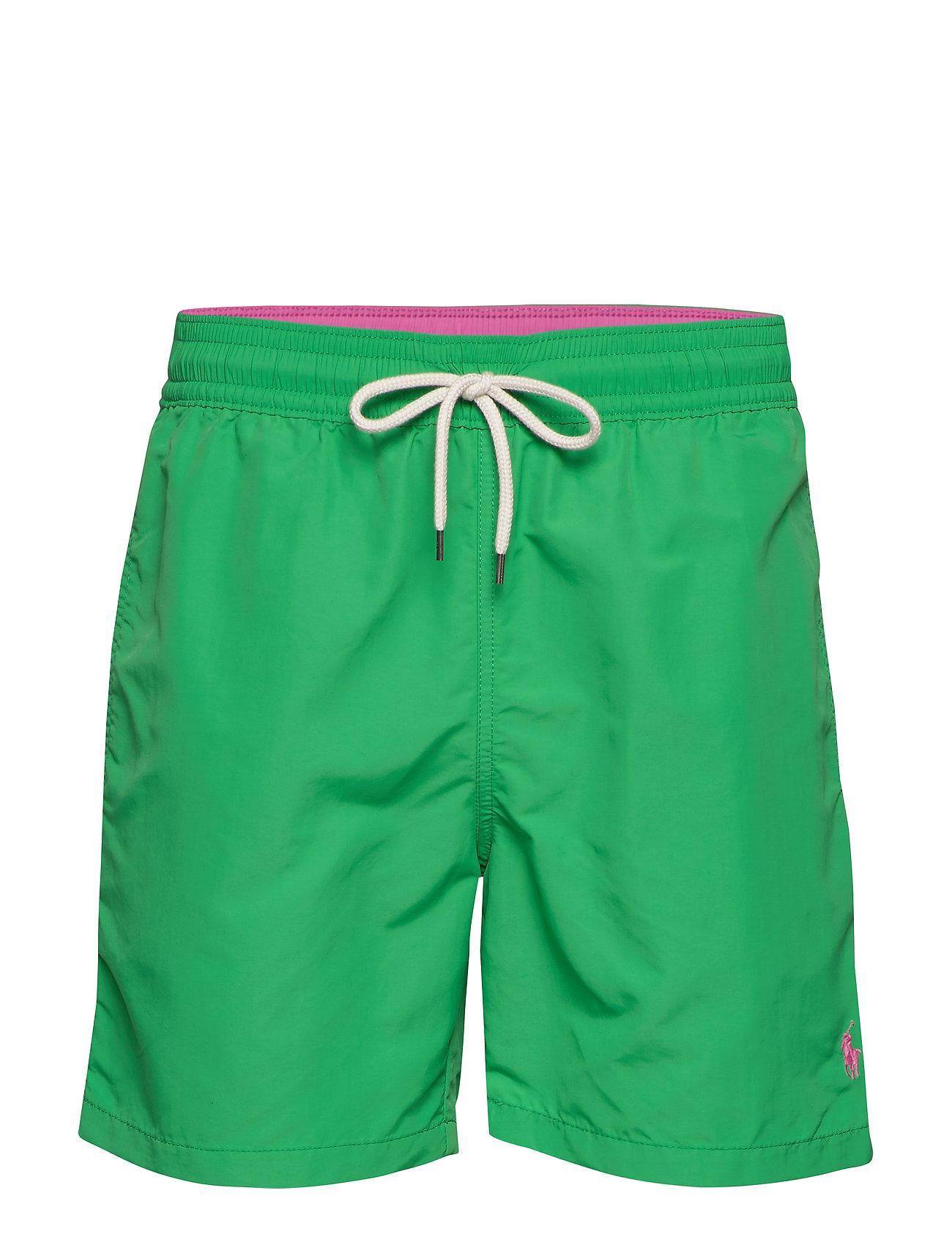 Polo Ralph Lauren 5½-Inch Traveler Swim Trunk - GOLF GREEN