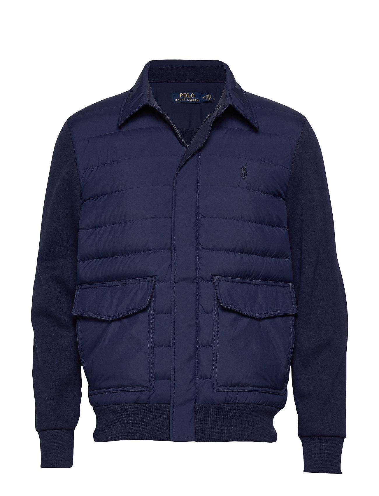 Polo Ralph Lauren Hybrid Down Bomber Jacket - NEWPORT NAVY