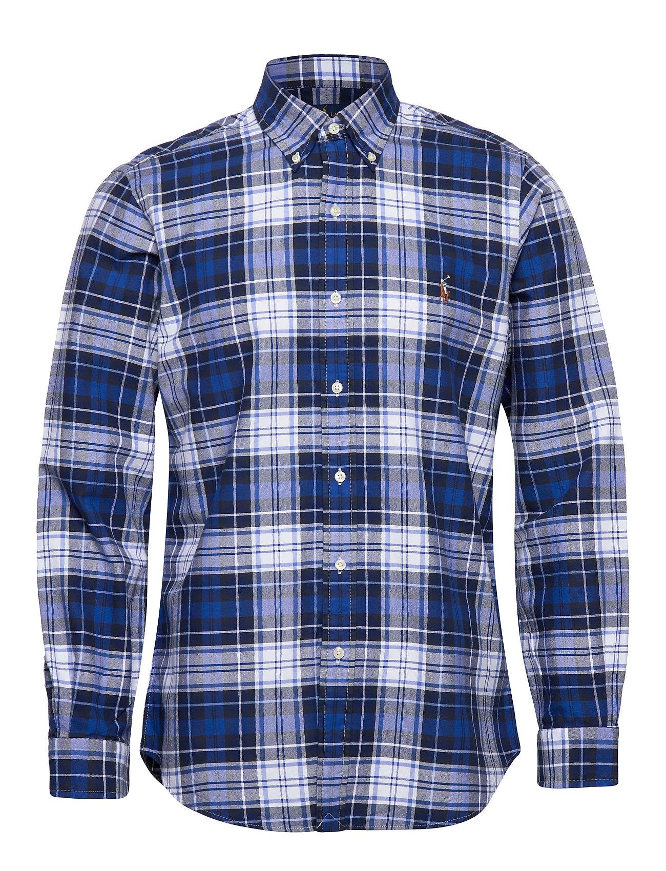 Polo Ralph Lauren Custom Fit Striped Shirt - 4336 BLUE/WHITE M