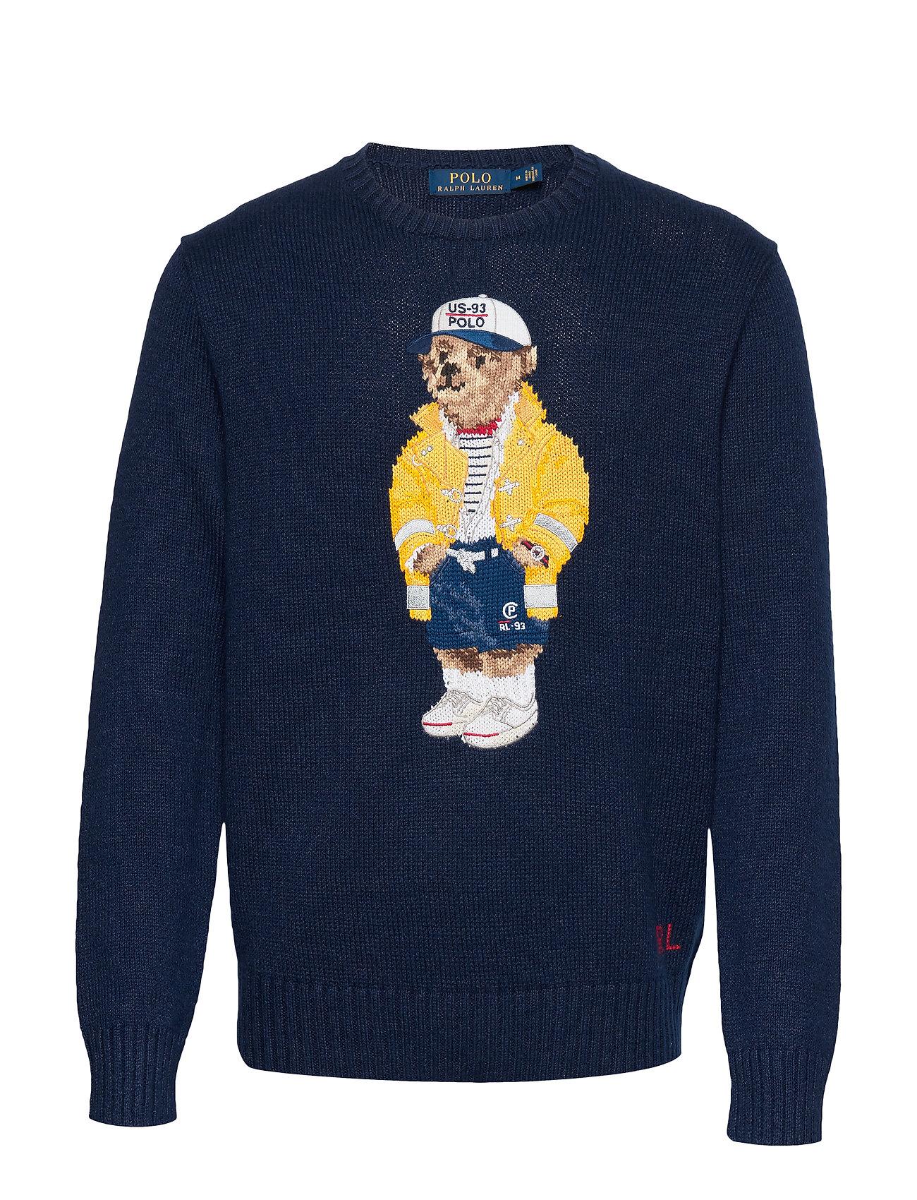 Polo Ralph Lauren CP-93 Bear Sweater - NAVY SAILOR