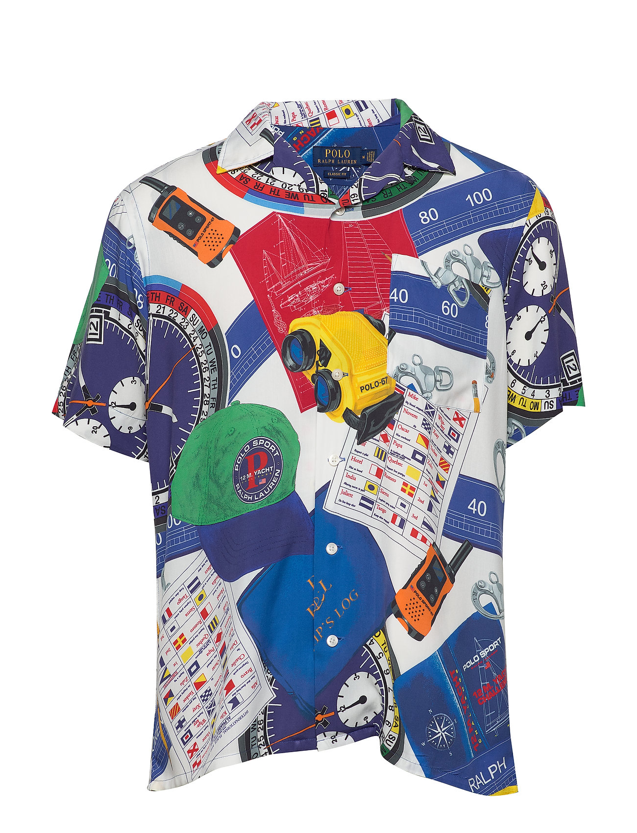 Polo Ralph Lauren Polo Sport Camp Shirt - 4758 NAVIGATIONAL