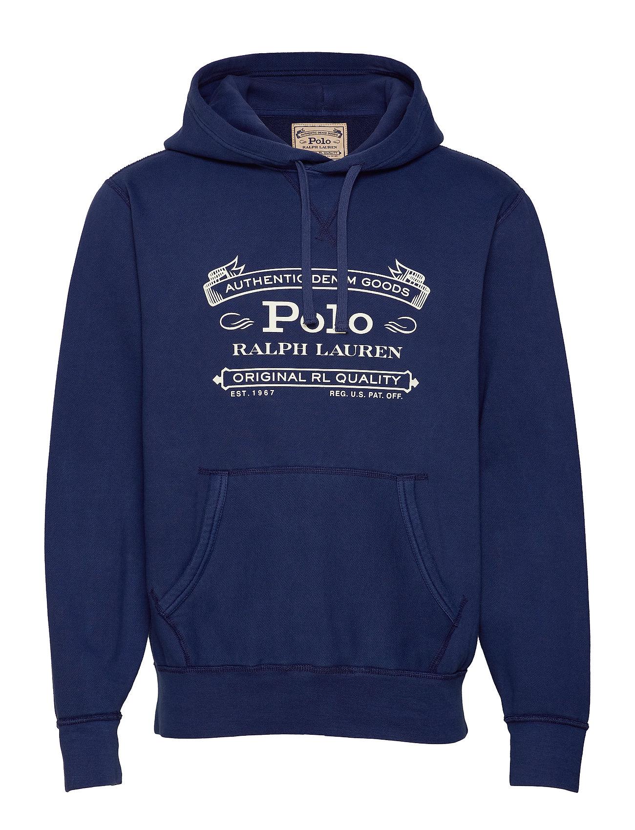 Polo Ralph Lauren Fleece Graphic Hoodie - CRUISE NAVY