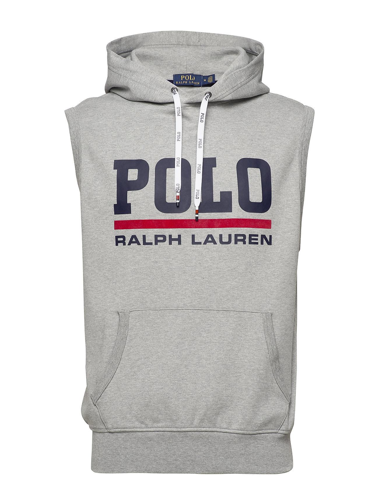 Polo Ralph Lauren Interlock Hooded Vest - ANDOVER HEATHER