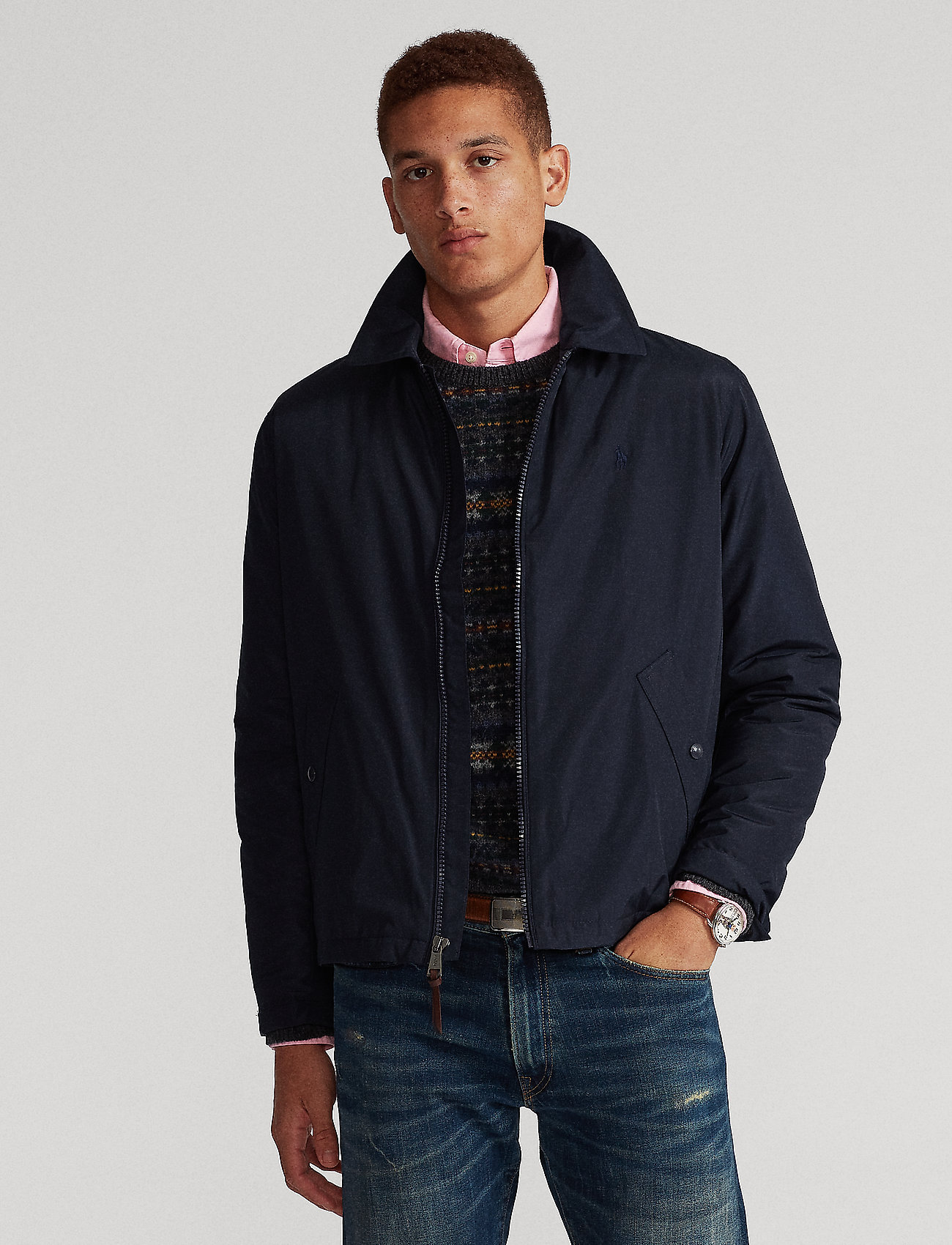 Polo Ralph Lauren - Water-Repellent Windbreaker - light jackets - collection navy - 0