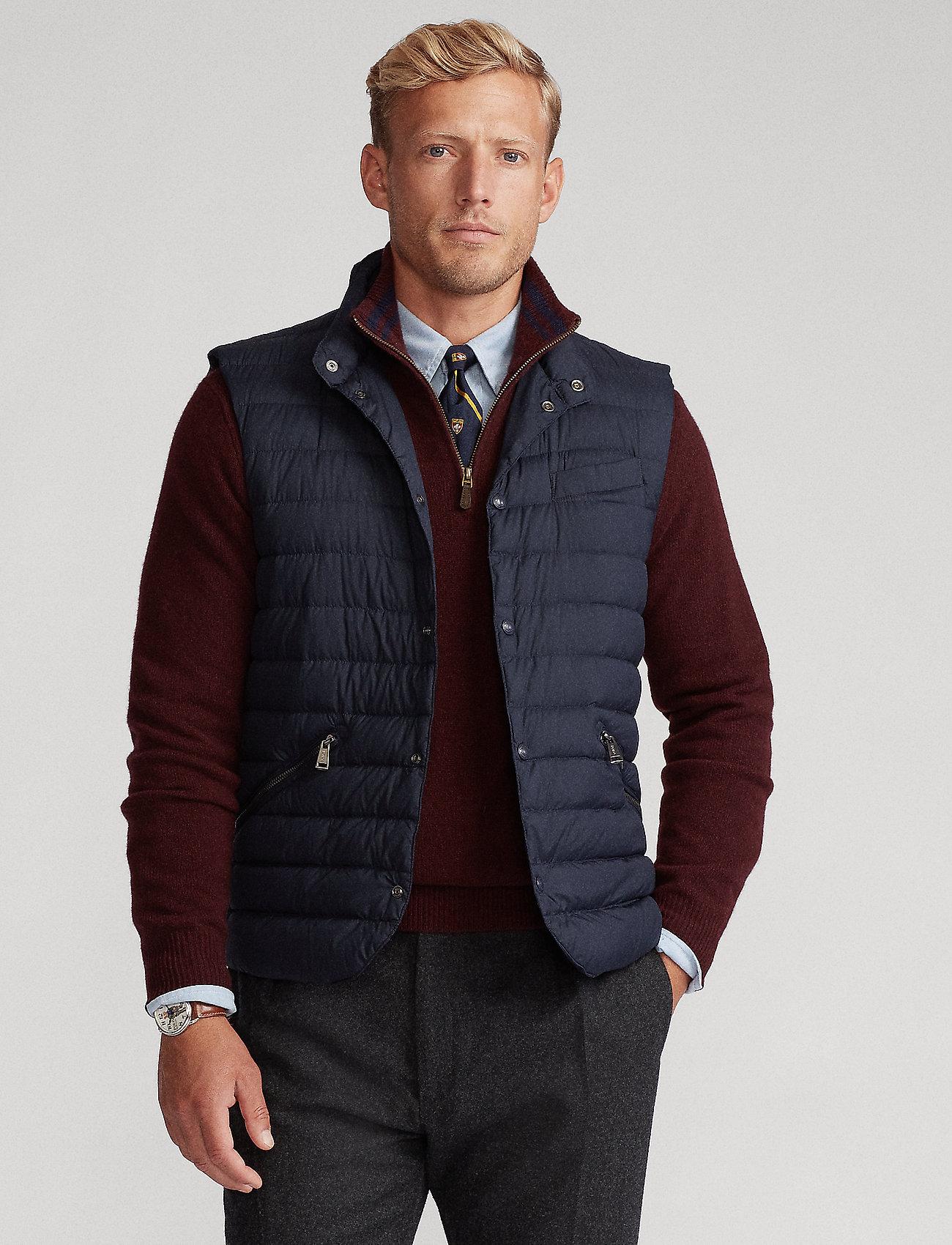 Polo Ralph Lauren - Water-Resistant Down Vest - vests - collection navy - 0