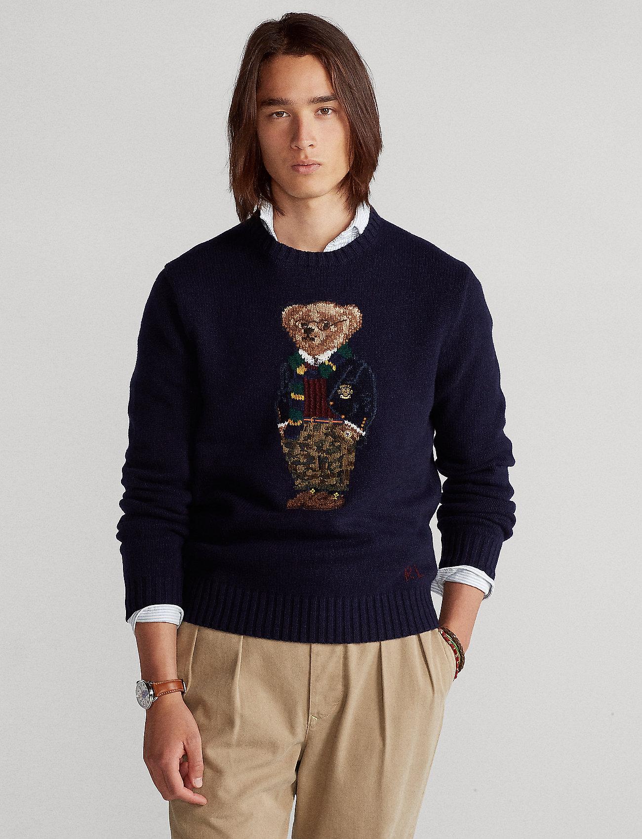 Polo Ralph Lauren - Preppy Bear Sweater - tops - preppy bear - 0