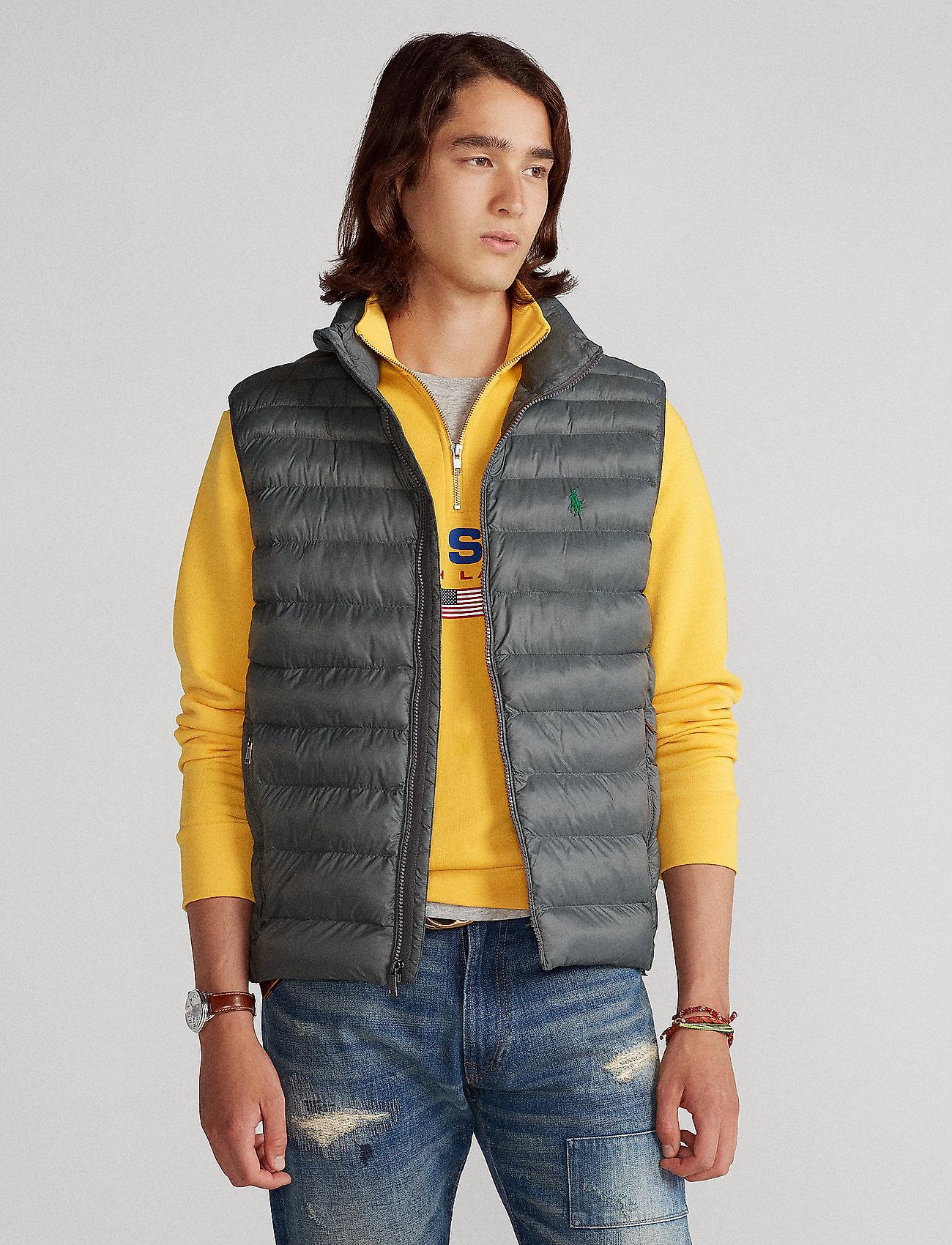 Polo Ralph Lauren - Packable Quilted Vest - westen - charcoal grey - 0